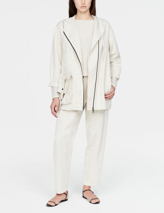 Sarah Pacini Trekking jacket - hood