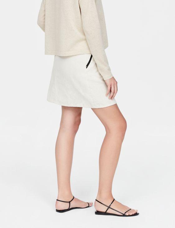 Sarah Pacini Jupe de coton - poches