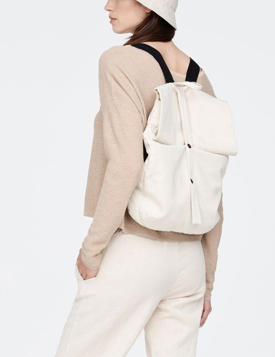 Sarah Pacini Cotton backpack