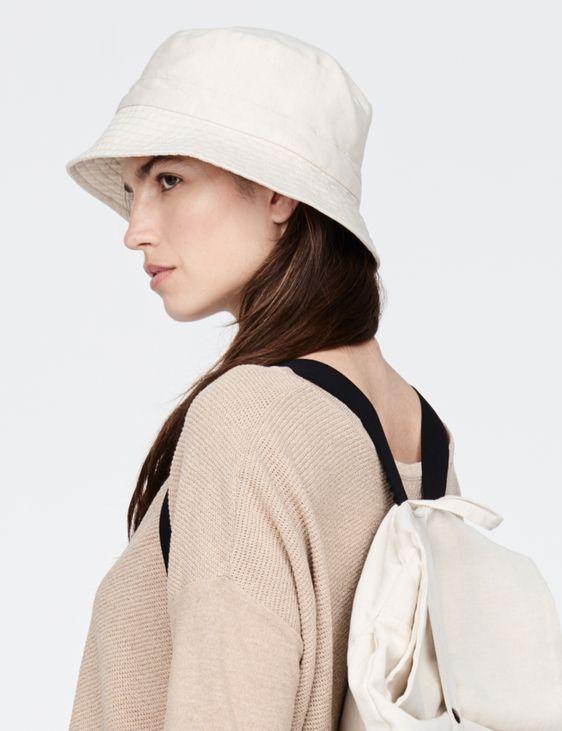 Sarah Pacini Cotton bucket hat