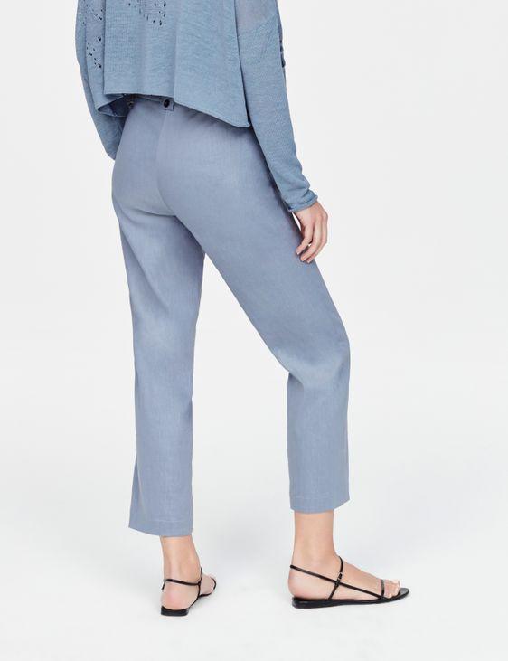 Sarah Pacini Hose aus elastischem Leinen - Yumiko