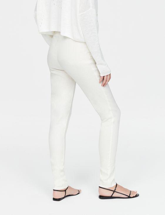 Sarah Pacini Legging en lin stretch