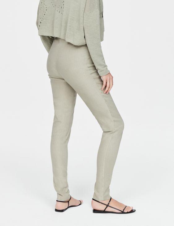 Sarah Pacini Stretch linen leggings