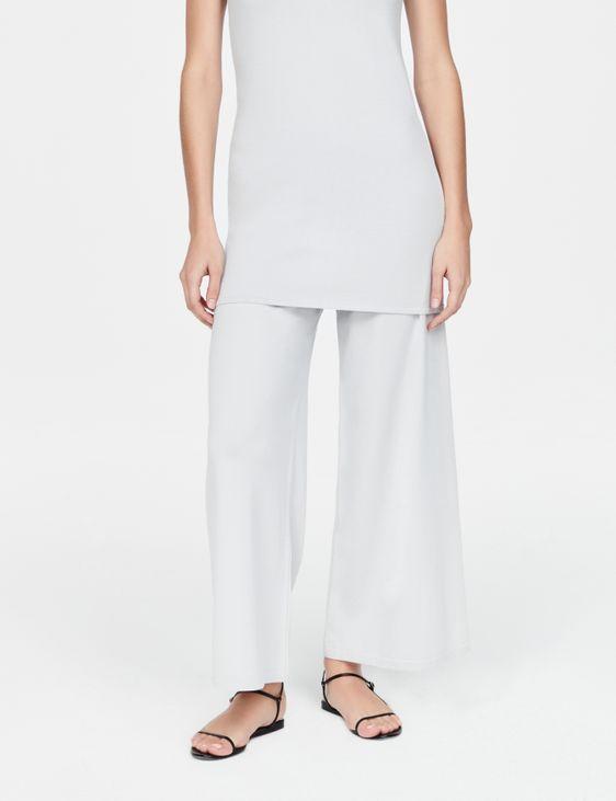 Sarah Pacini Wide-leg pants - free time