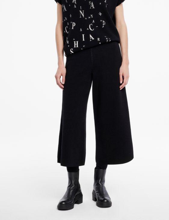 Sarah Pacini Pantalon en maille - style gaucho