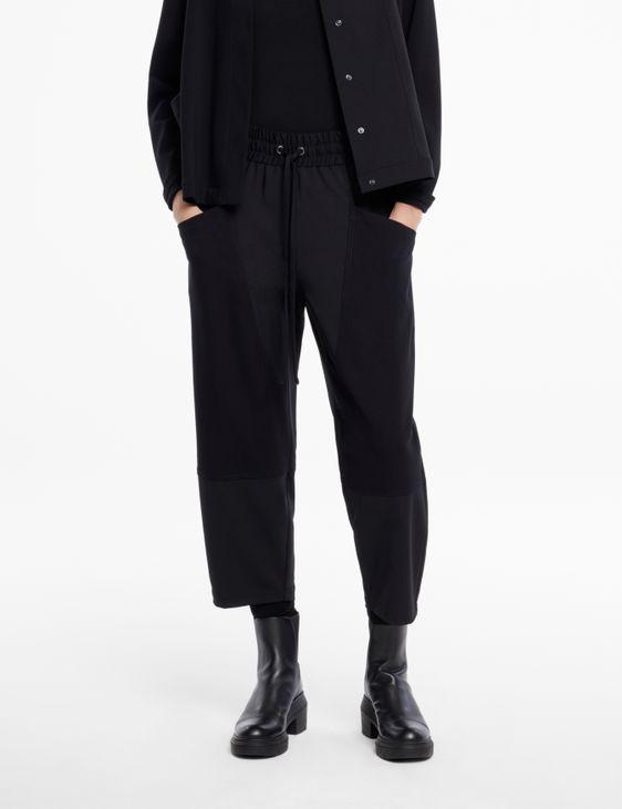 Sarah Pacini Pantalon gabardine - poches jersey