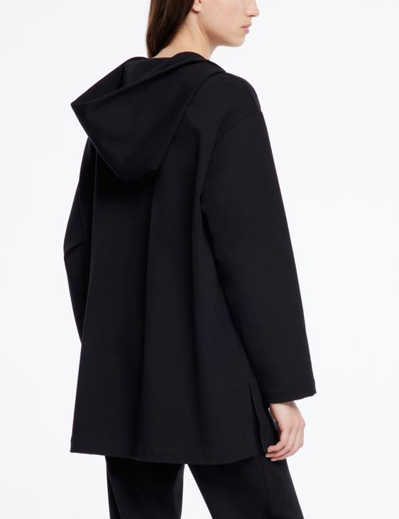Sarah Pacini Veste jersey - style car coat