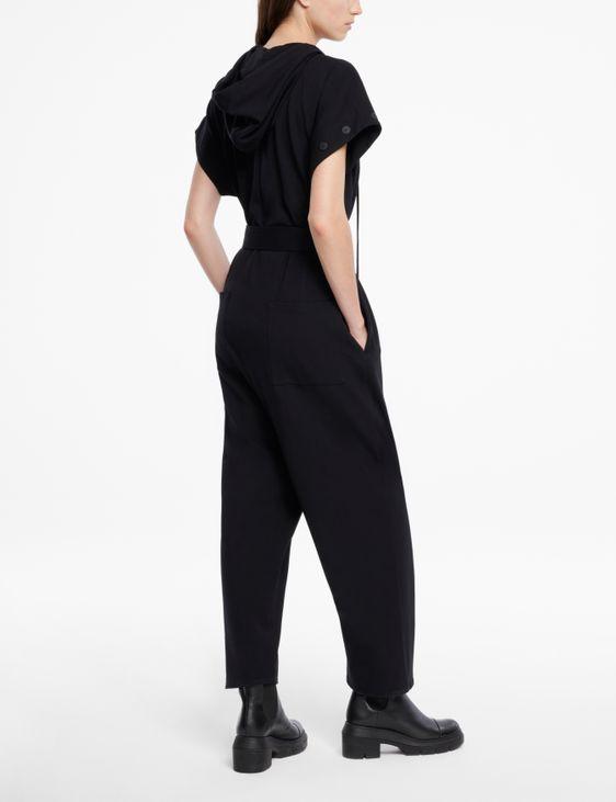 Sarah Pacini Combinaison en jersey - capuche