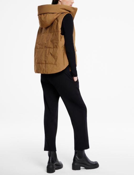 Sarah Pacini Doudoune sans manches - capuche