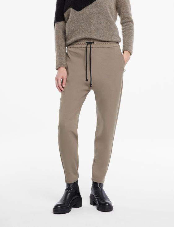 Sarah Pacini Pantalon jersey - cordon coulissant