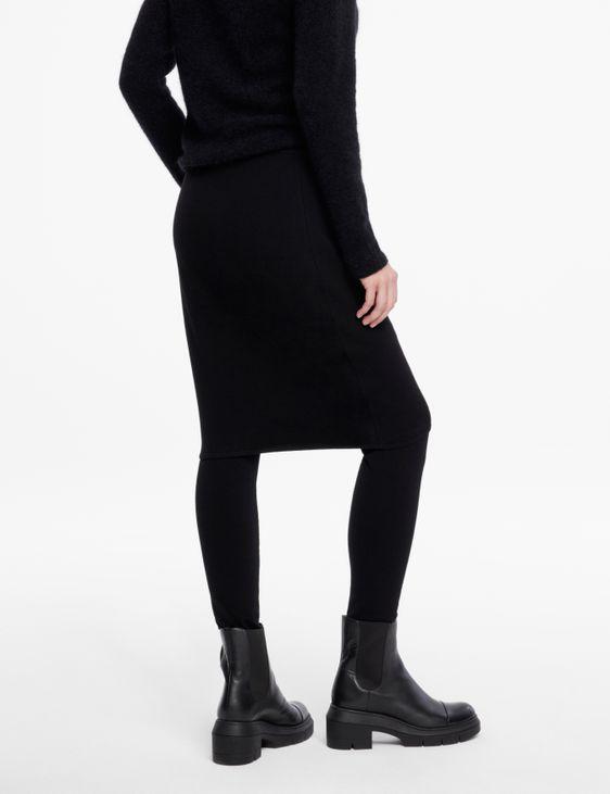 Sarah Pacini Jupe en maille - droite