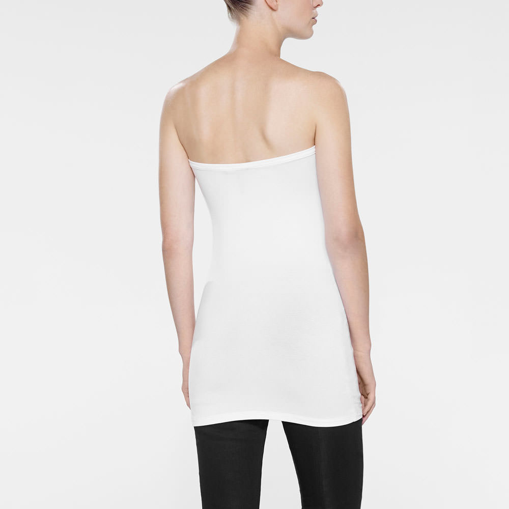 Sarah Pacini SHORT TUBE TUNIC - STRAPLESS Back view