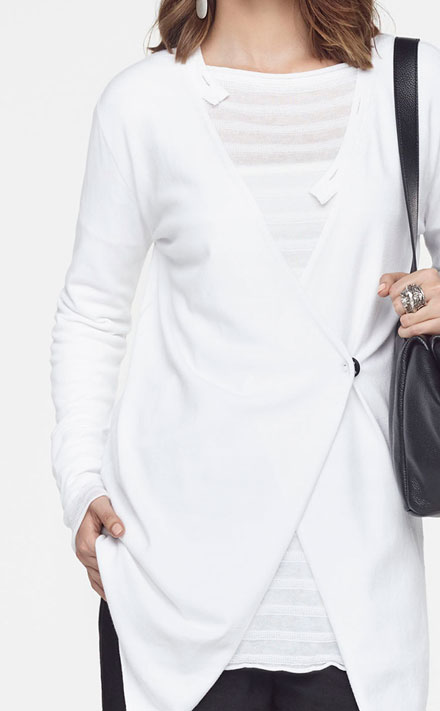 Sarah Pacini SHORT TUBE TUNIC Look