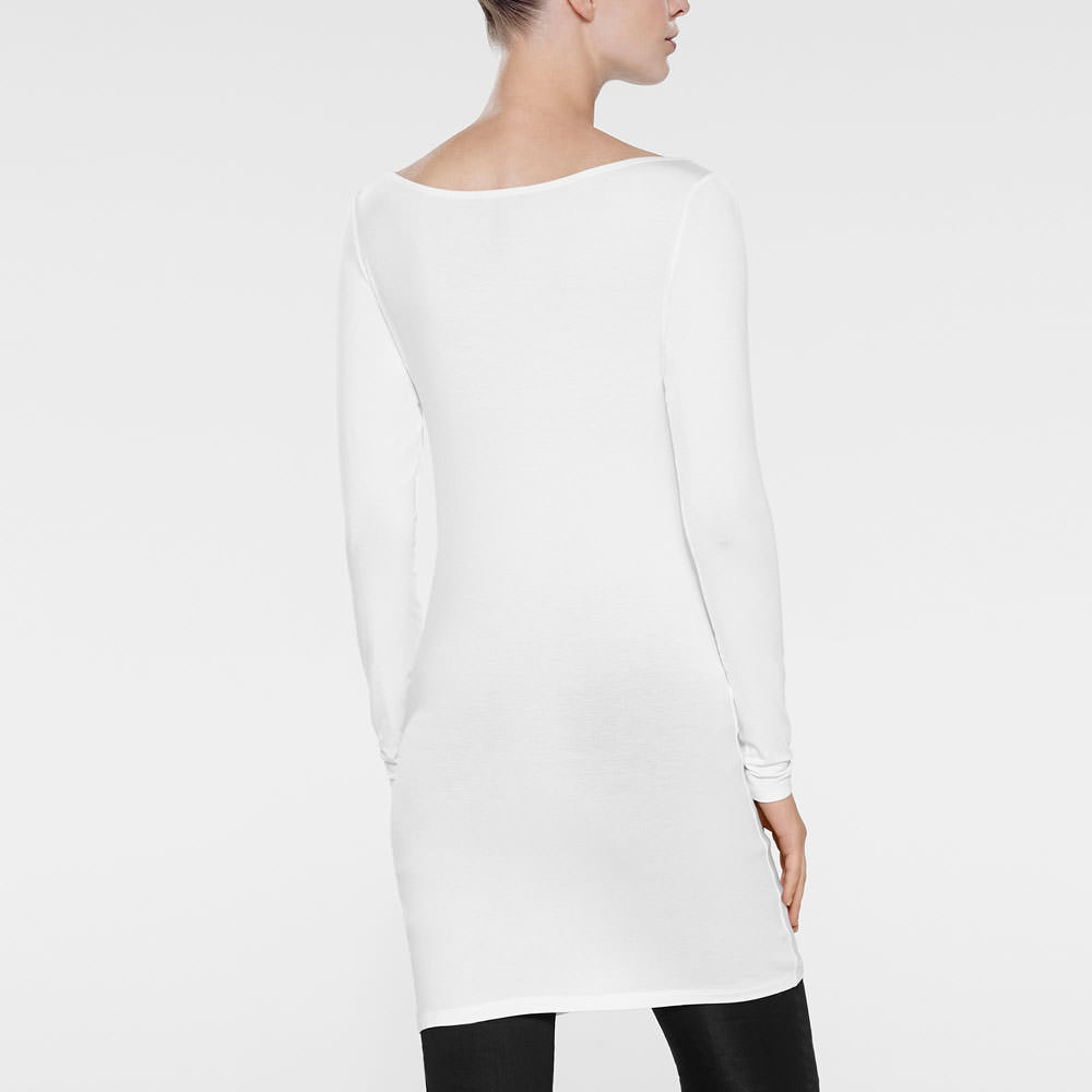 Sarah Pacini TUNIC - BOAT NECK Back view