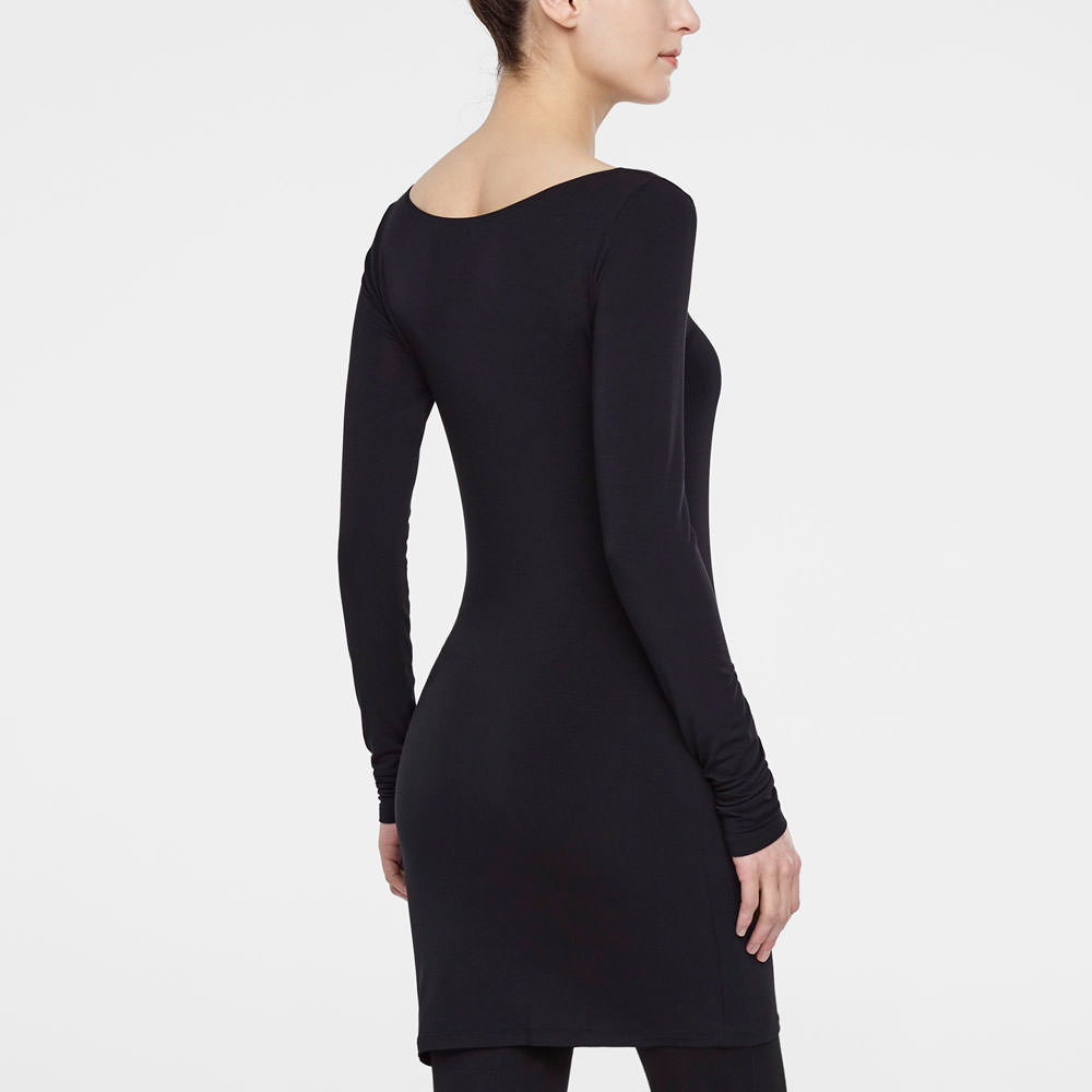 Sarah Pacini TUNIC - ROUND NECK Back view