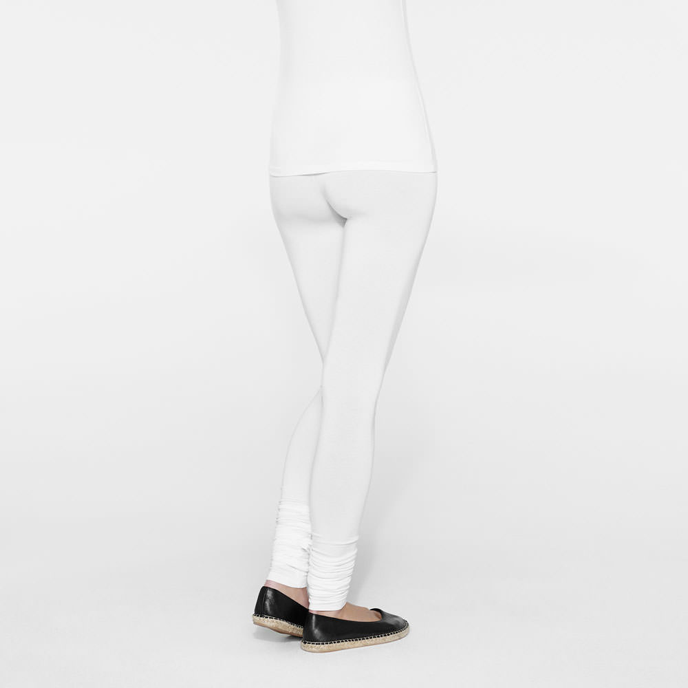 Sarah Pacini Lange baumwolle leggings Rück