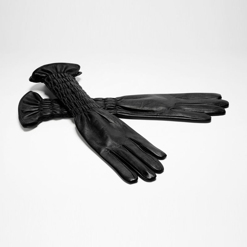Sarah Pacini GANTS LONGS - FRONCES De face