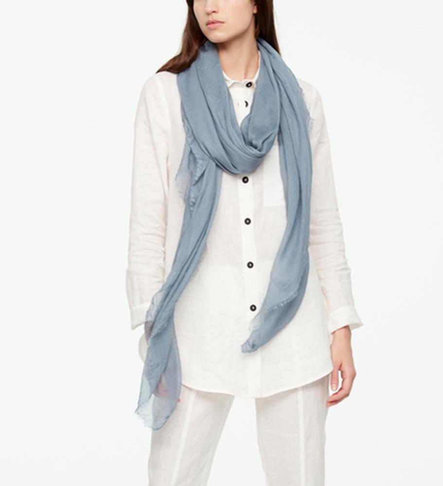 Sarah Pacini Lange Sjaal Voorzijde
