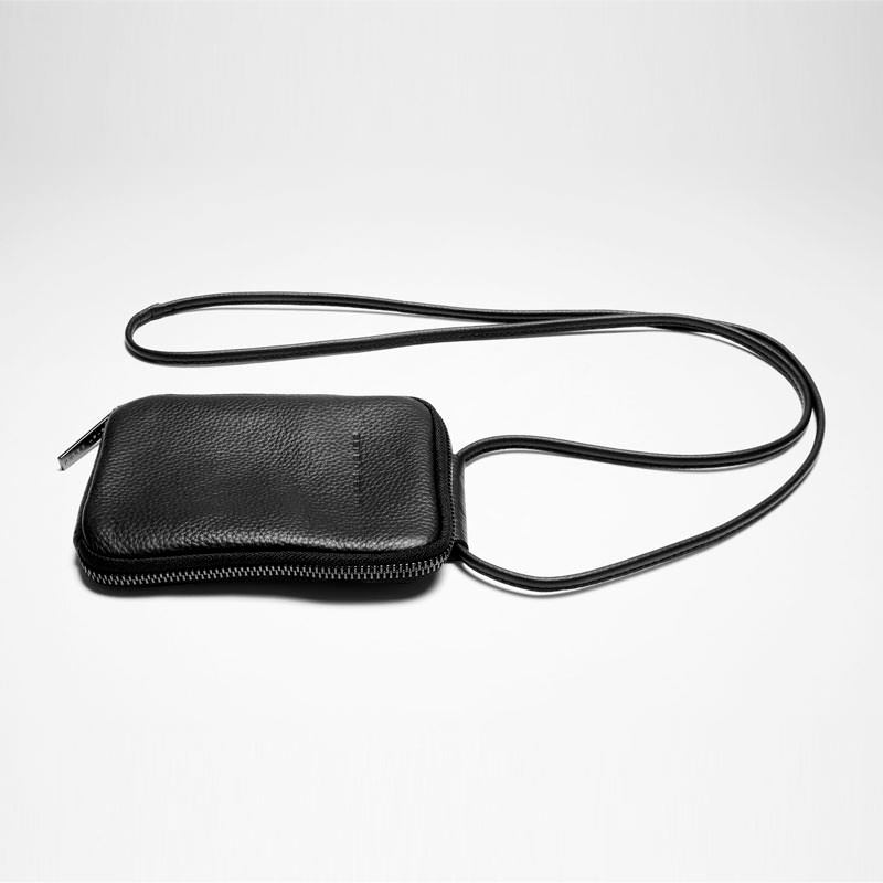 Sarah Pacini LEATHER NECK WALLET Front