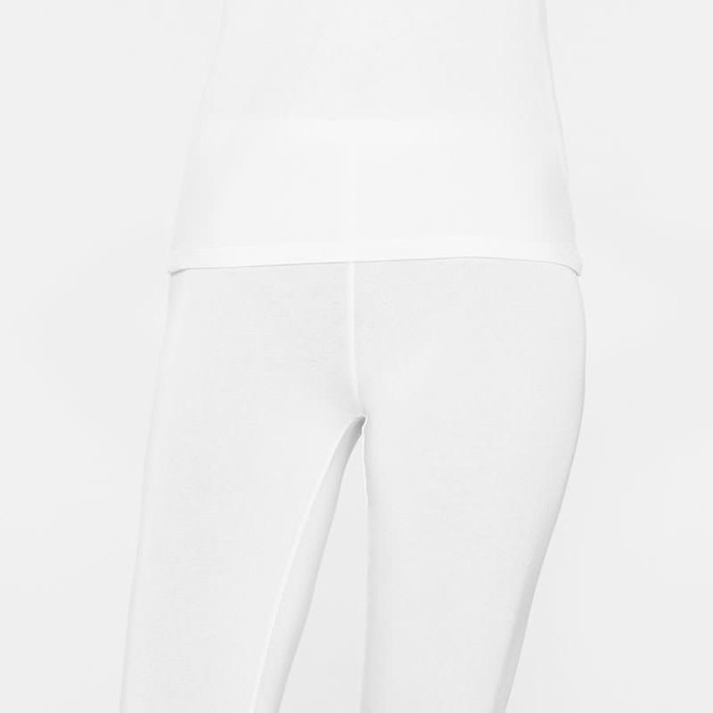 Sarah Pacini Lange baumwolle leggings Vorne