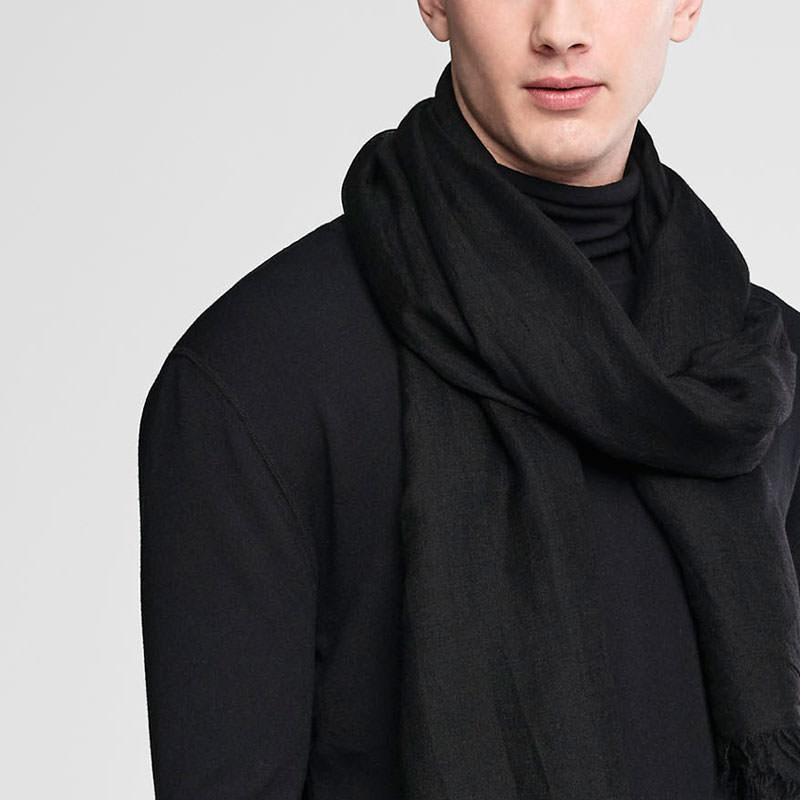 Sarah Pacini Wollen sjaal Voorzijde