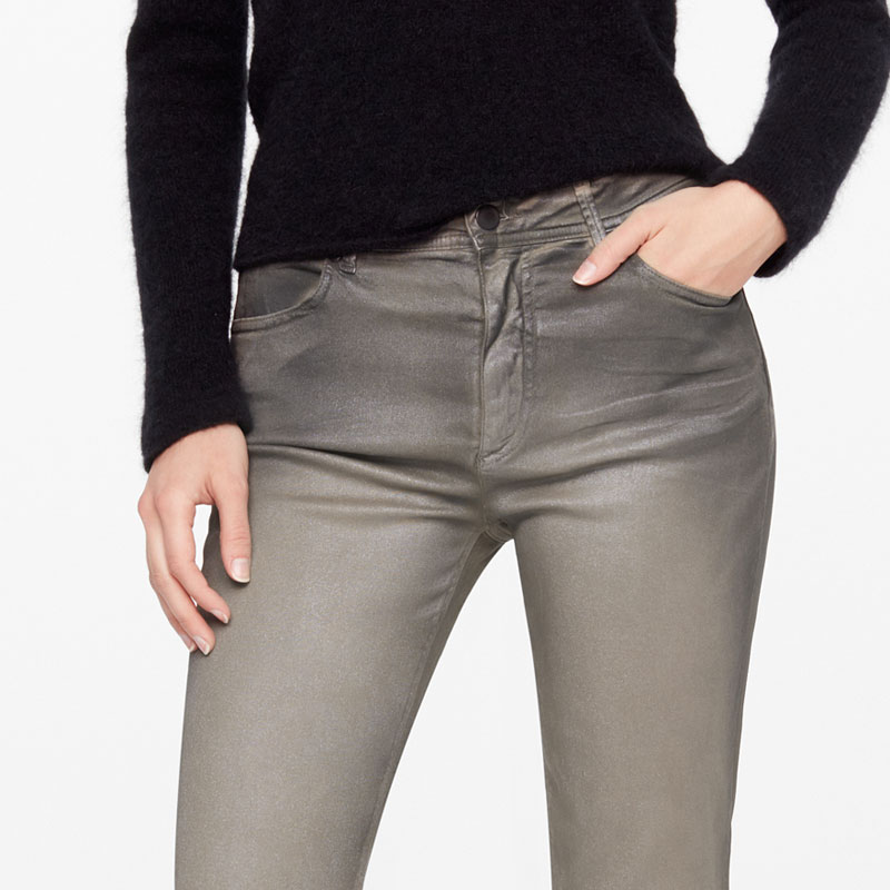 Sarah Pacini MY GLITTER JEANS - CLASSIC FIT Front
