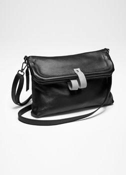 Sarah Pacini LEATHER DAY-TO-NIGHT BAG Front