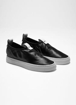 Sarah Pacini LEATHER SLIP-ONS Front