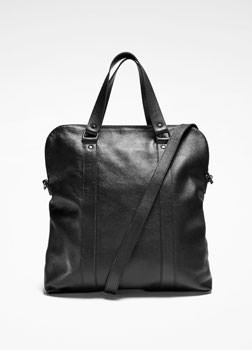 Sarah Pacini LEATHER SATCHEL Front