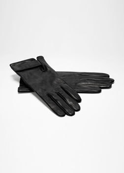 Sarah Pacini SHORT LEATHER GLOVES Front