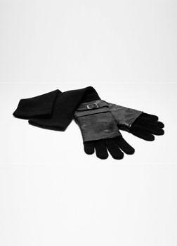 Sarah Pacini Lange handschoenen Voorzijde