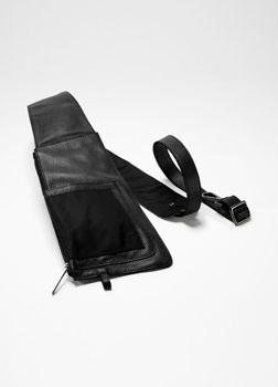 Sarah Pacini LEATHER BELT BAG Front