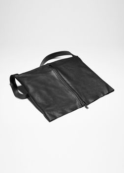 Sarah Pacini LEATHER CROSSBODY BAG Front