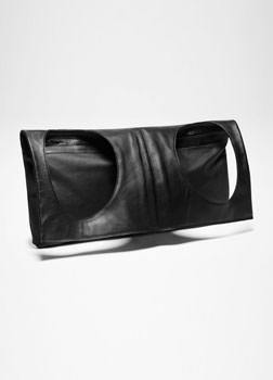 Sarah Pacini LEATHER SHOULDER BAG - VEST DESIGN Front