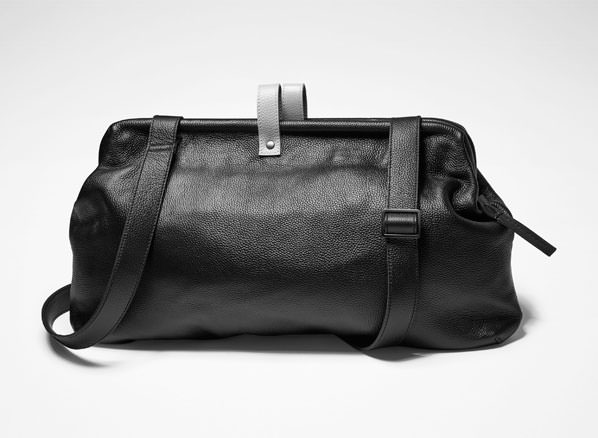Sarah Pacini LEATHER DOCTOR''S BAG Front