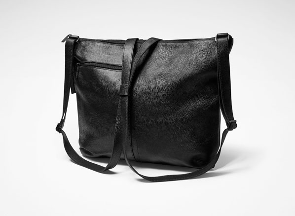 Sarah Pacini LEATHER BACKPACK Front