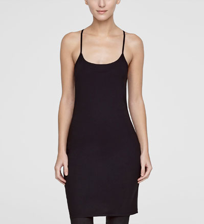 Sarah Pacini KNEE-LENGTH TUNIC - THIN STRAPS Front