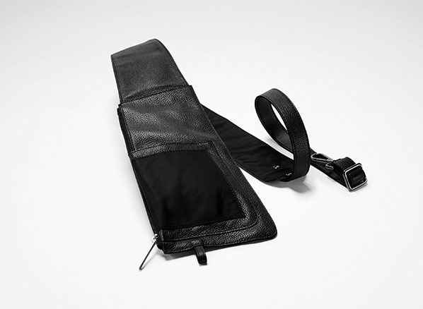 Sarah Pacini LEATHER BELT BAG Front