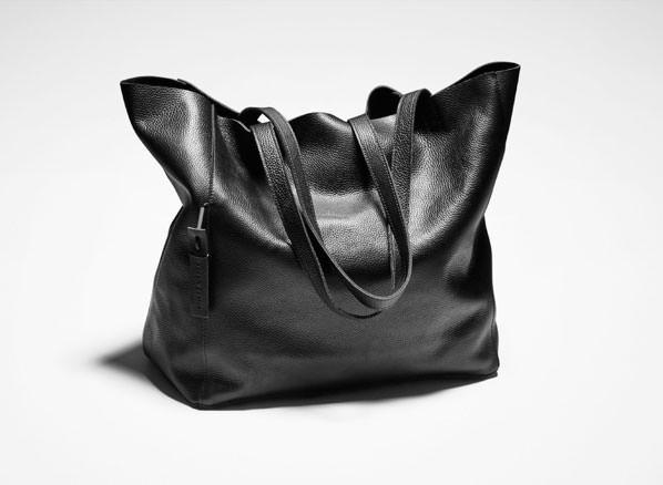 Sarah Pacini LEATHER TOTE BAG Front