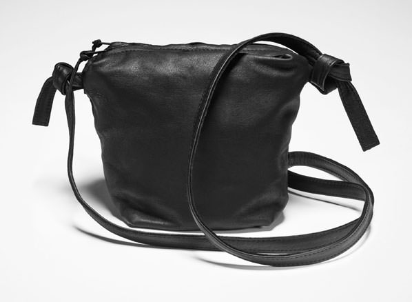 Sarah Pacini SMALL LEATHER SHOULDER BAG Front