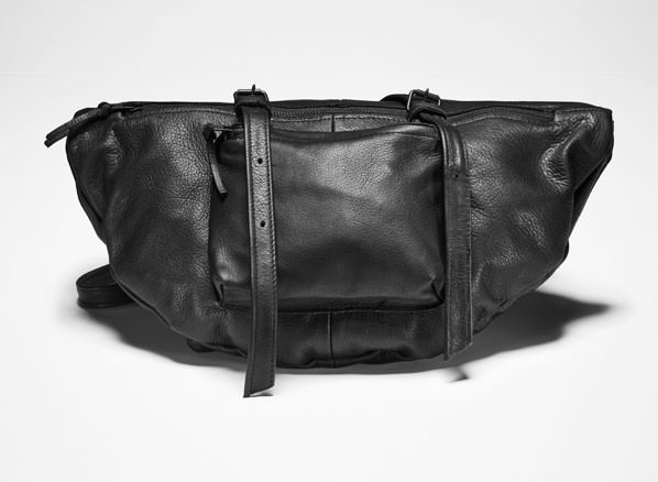 Sarah Pacini LEATHER SHOULDER BAG Front