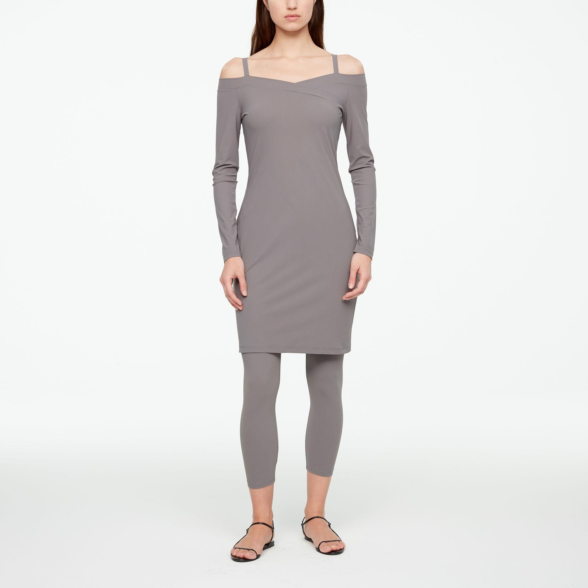 leichtes kleid - schulterfrei