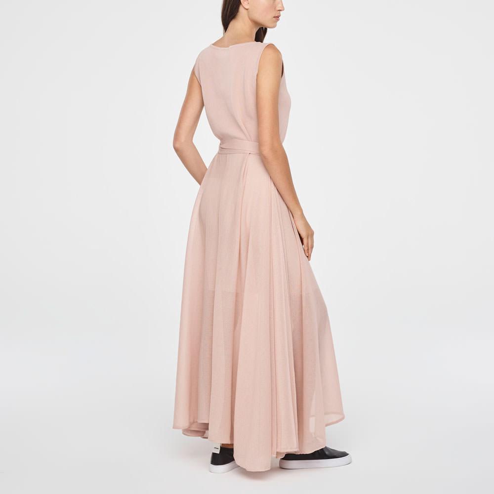 Sarah Pacini MAXI DRESS-FLARE DESIGN Back view