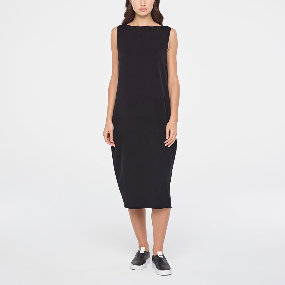 Sarah Pacini MIDI COTTON DRESS Front