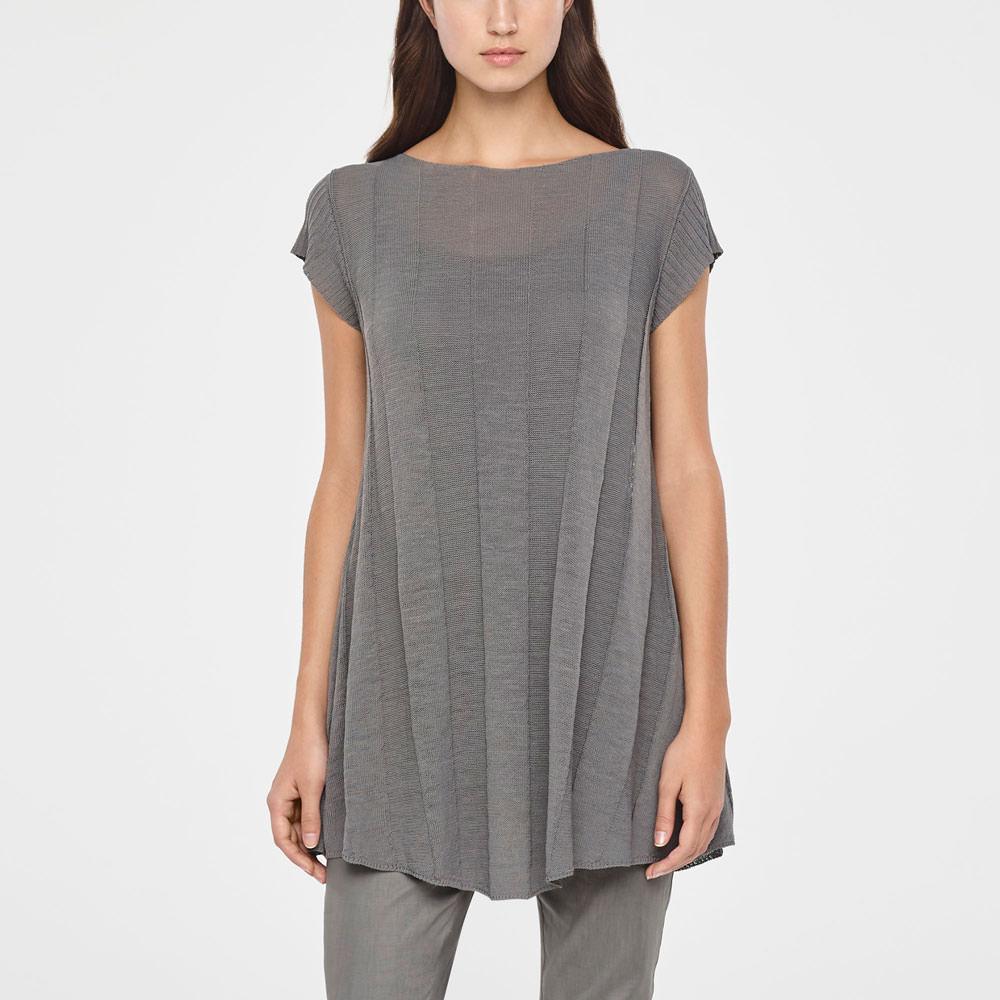 Sarah Pacini BOHEMIAN LINEN DRESS Front