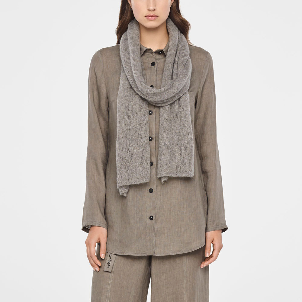Sarah Pacini SUMMER SCARF IN MOHAIR Front