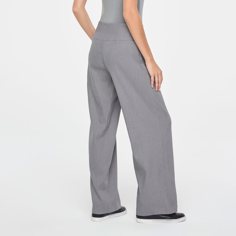 Sarah Pacini LINEN PANTS - CHLOE Back view