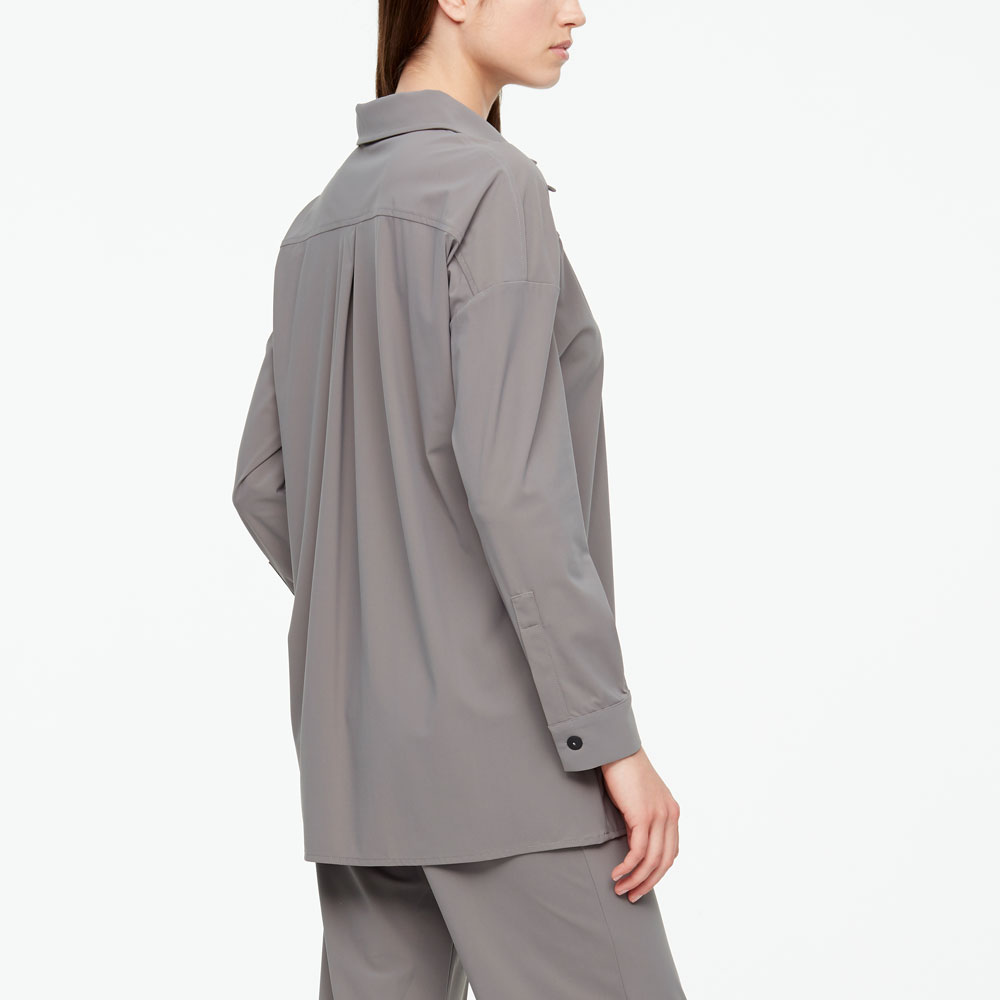 Sarah Pacini DRAWSTRING SHIRT Back view