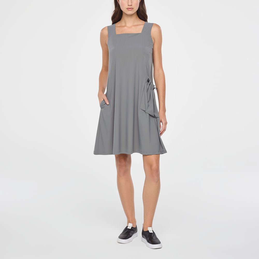 Sarah Pacini SUMMER DRESS - SQUARE NECKLINE Front