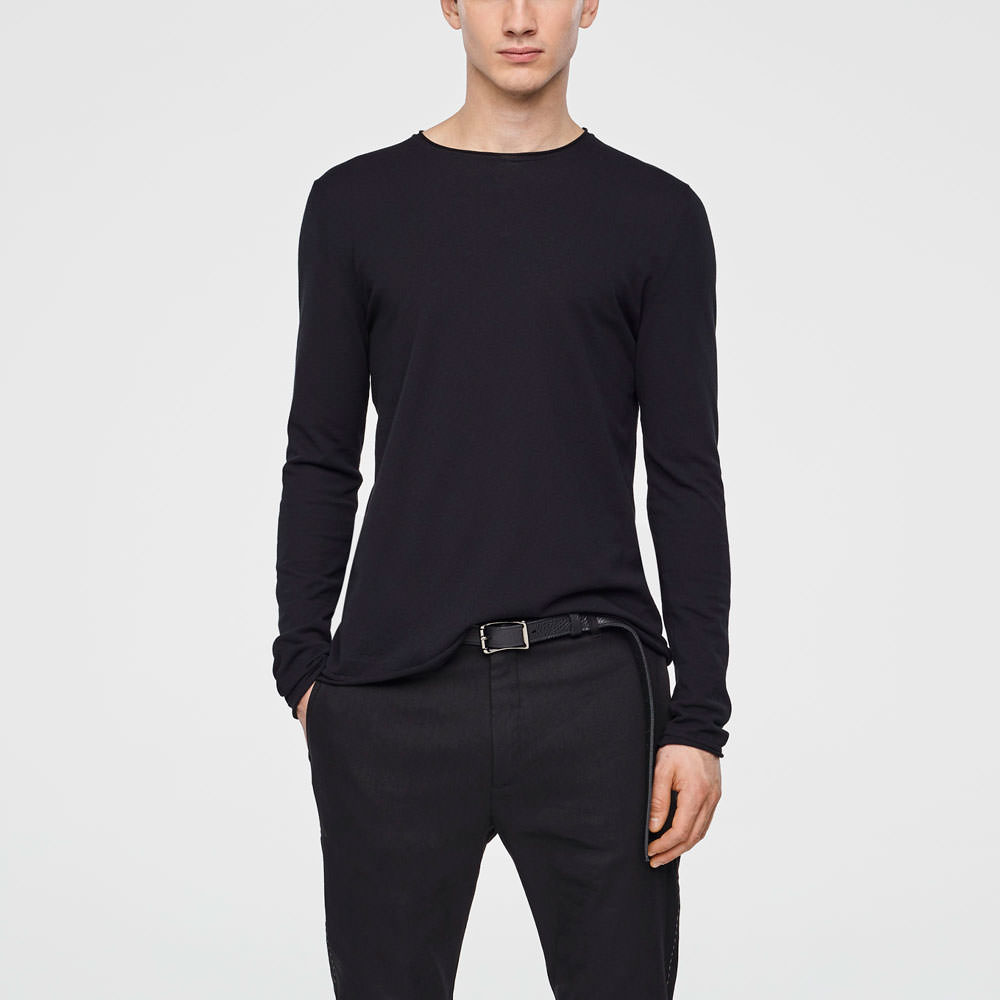 Sarah Pacini COTTON SWEATER Front